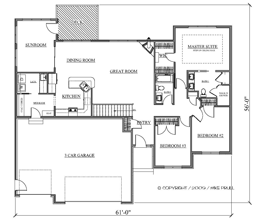 1803r 355 09 prull custom home designs house plans for 2000 sq ft shop plans