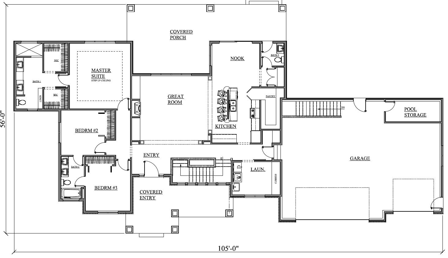 Custom design home with jack and jill bathroom by prull - What is a jack and jill bathroom ...